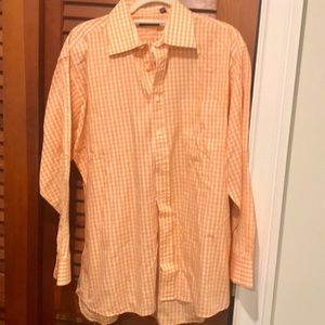 Burberry Men's Gingham Button Down Long Sleeve